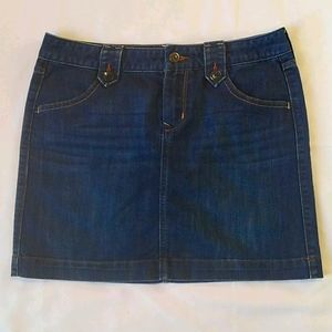 Old Navy Denim Jean Pencil Skirt 6